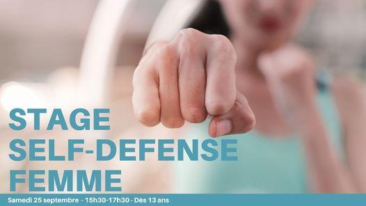 Stage de Self-defense fille d\u00e8s 13 ans