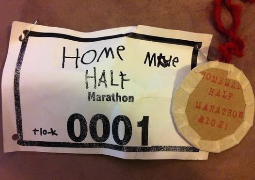 9th Annual Homemade Half Marathon, Almost 10k and One Mile Walk!