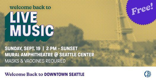 Welcome Back Seattle Finale Concert