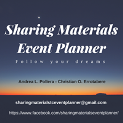 Sharing Materials Event Planner