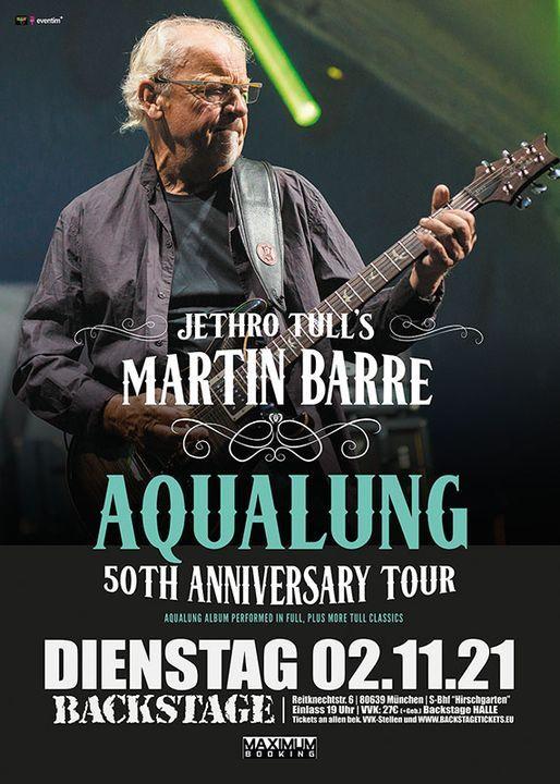Jethro Tull\u00b4s MARTIN BARRE & Band l Backstage M\u00fcnchen