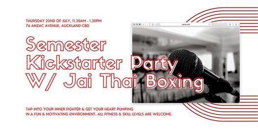 MDC's Semester Kickstarter Party w\/ Jai Thai Boxing