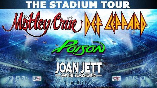 The Stadium Tour: Motley Crue, Def Leppard, Poison
