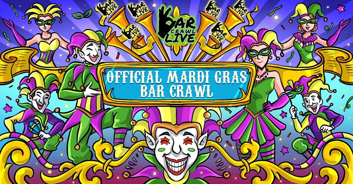 Official Mardi Gras Bar Crawl   Philadelphia, PA - Bar Crawl Live