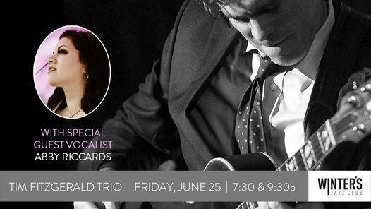 Tim Fitzgerald Trio and guest vocalist Abigail Riccards