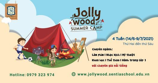 TR\u1ea0I H\u00c8 JOLLYWOOD SUMMER CAMP