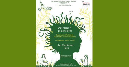 K\u00fcnstlerisches Naturerlebnis \u2013 Workshop f\u00fcr Gro\u00df und Klein