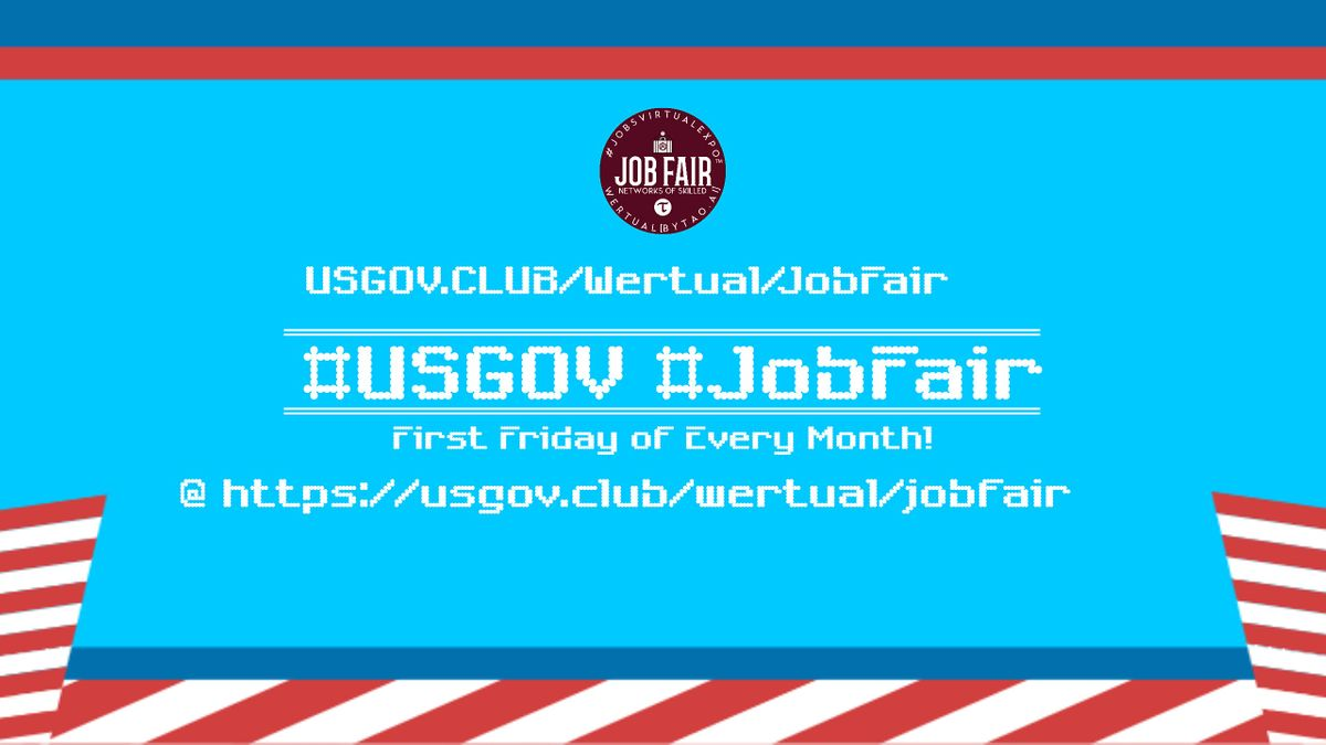 Monthly #USGov Virtual JobExpo \/ Career Fair #Seattle