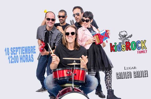 Kids Rock Family - sala Galileo