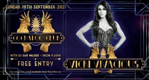 Cocktails & Cabaret with Vicki Vivacious