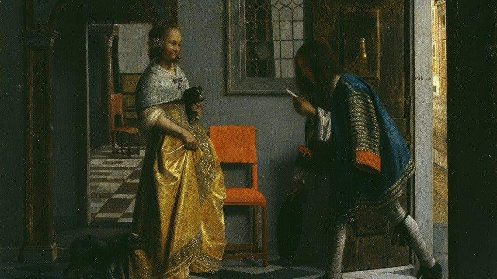 CLASS SOCIETY. Everyday Life as Seen by Dutch Masters.