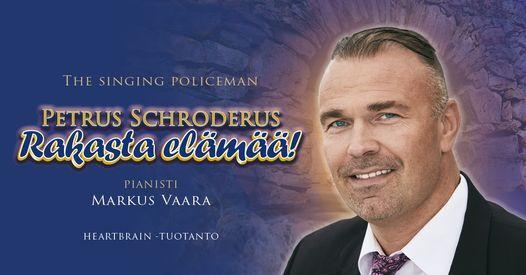 Petrus Schroderus, The singing policeman, pianistina Markus Vaara