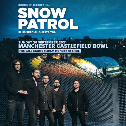 Snow Patrol Live At Manchester Castlefield Bowl