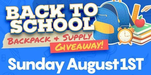 Back To School Backpack & Supply