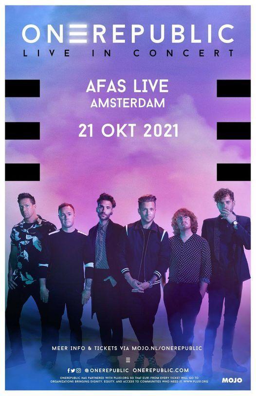 OneRepublic | Live In Concert Amsterdam