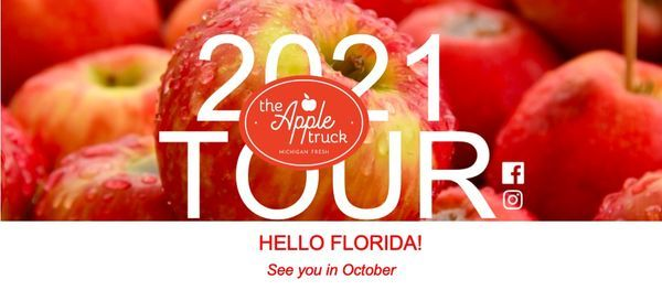 The Apple Truck Tour - Florida Mall, Orlando, Florida