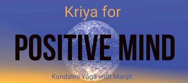Kriya for Positive Mind \u00a36
