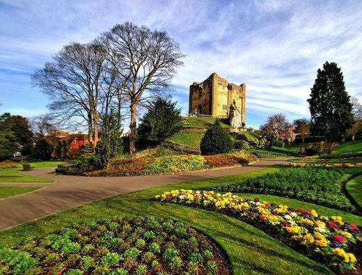 Guildford Castle, The North Downs, St Martha on the Hill