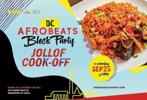 DC Afrobeats Block Party & Jollof Cook-Off