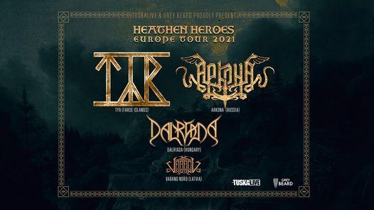 T\u00ddR  at live\/ Arkona \/ Dalriada - Heathen Heroes tour, Hki