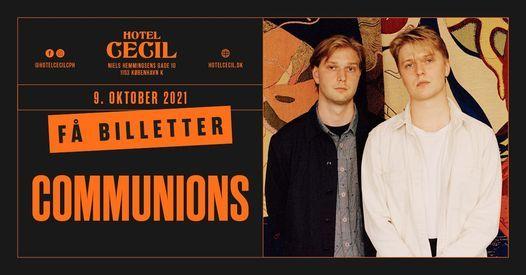 Communions @Hotel Cecil, K\u00f8benhavn