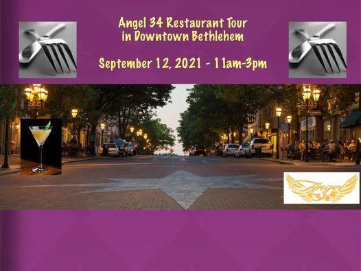Angel 34 Restaurant Tour in Downtown Bethlehem
