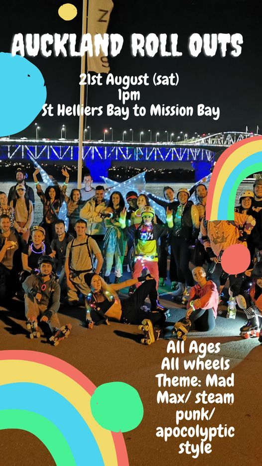St Helliers to Mission Bay: Day Roll Out