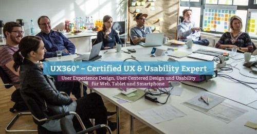 UX360\u00b0 \u2013 Certified UX & Usability Expert, Hamburg