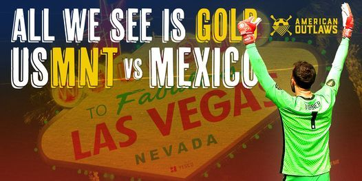 USMNT Vs. Mexico - Gold Cup Final Watch Party!