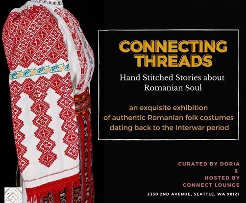 Connecting Threads - Hand Stiched Stories about Romanian Soul