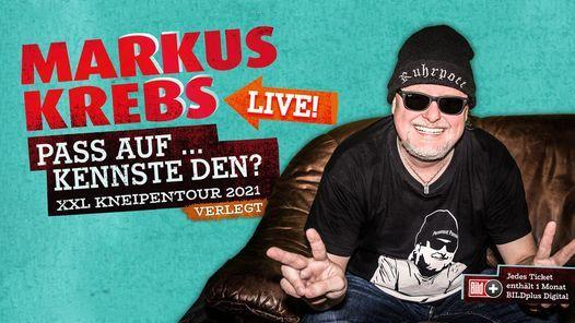 Markus Krebs \u2013 Berlin, Tempodrom   Verlegt vom 24.11.2020