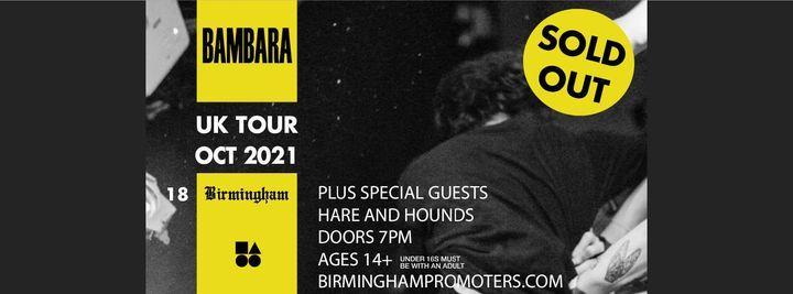 Bambara (Hare & Hounds, Birmingham)