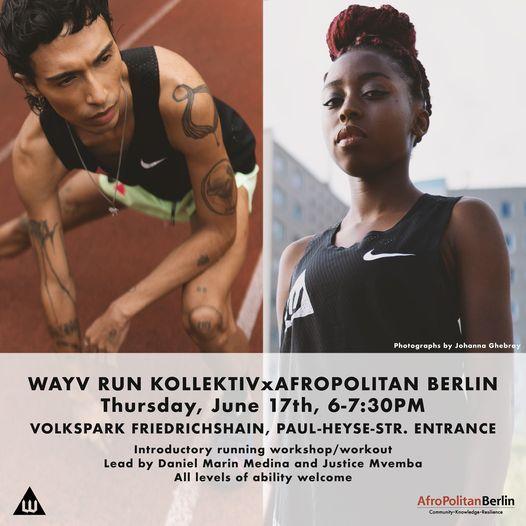 Wayv Run Kollektiv x AfroPolitan Berlin