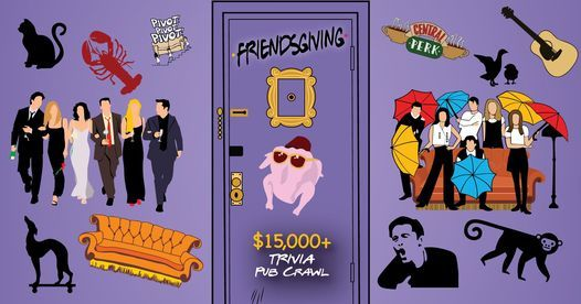 Orlando - Friendsgiving Trivia Pub Crawl - $15,000+ in Prizes