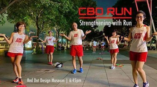 CBD Run Training Session
