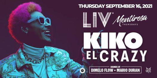 Kiko El Crazy - Thurs. September 16th