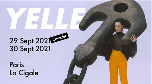 YELLE - Les 29 & 30 septembre 2021 \u00e0 La Cigale