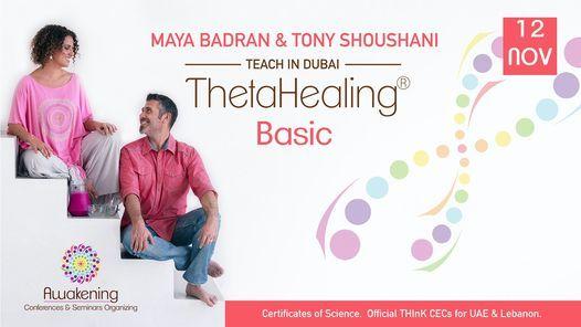 ThetaHealing Basic - Dubai 2021 - Tony
