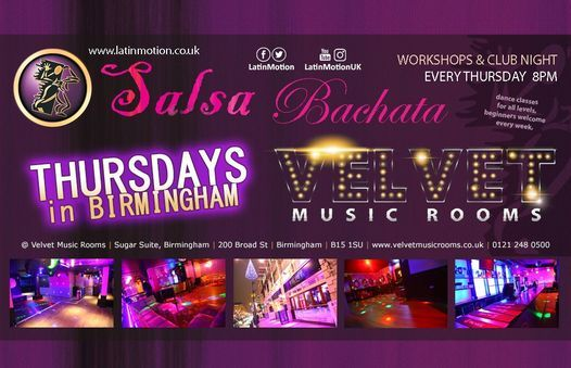 *Suspended* LatinMotion *weekly* Thursday Salsa & Bachata Night