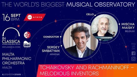 Tchaikovsky and Rachmaninoff \u2013 Melodious inventors