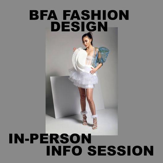 Fashion Design BFA Info Session