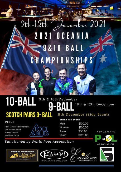 2021 Oceania 9 & 10-Ball Championships