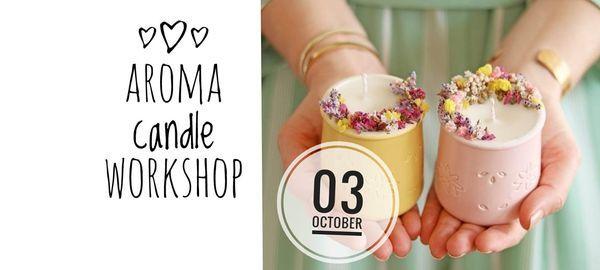 Botanical Aroma Candle Workshop