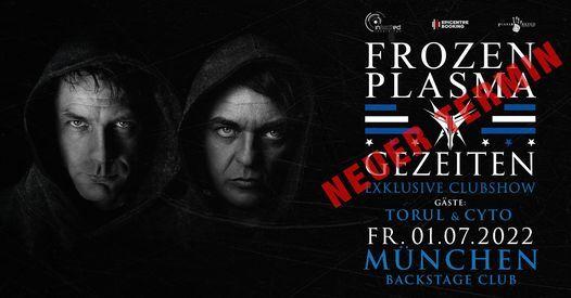 Frozen Plasma l Backstage M\u00fcnchen (Nachholshow)