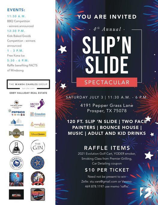 4th Annual Slip n Slide Spectacular