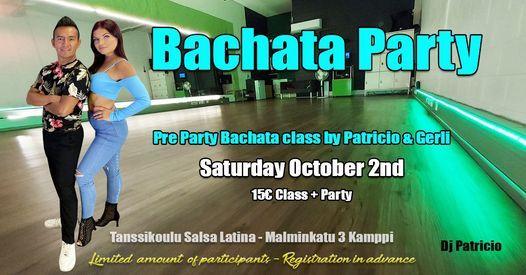Bachata Party Saturday October 2nd