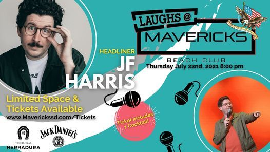 Mavericks Comedy Night with JF Harris