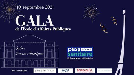 Gala de l'\u00c9cole d'Affaires Publiques - Edition 2021