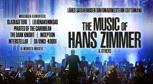 The Music of Hans Zimmer & Others Helsingin J\u00e4\u00e4halli 2021