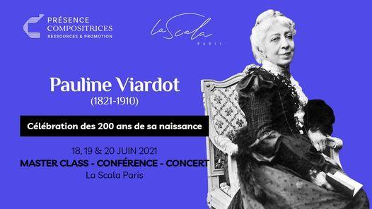 Pr\u00e9sence Compositrices c\u00e9l\u00e8bre Pauline Viardot